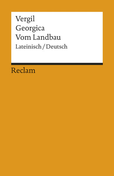 Georgica /Vom Landbau - Coverbild