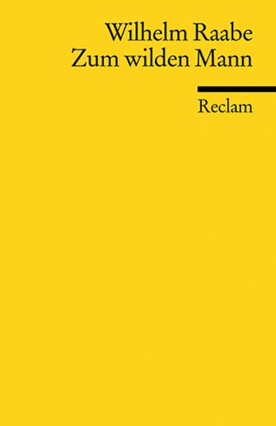 Zum wilden Mann von Wilhelm Raabe PDF Download