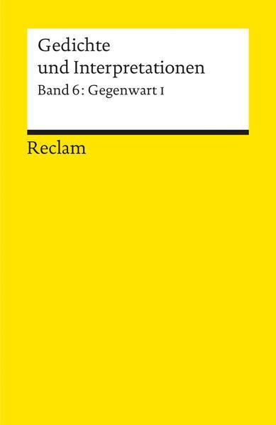 Gedichte und Interpretationen / Gegenwart I Epub Ebooks Herunterladen