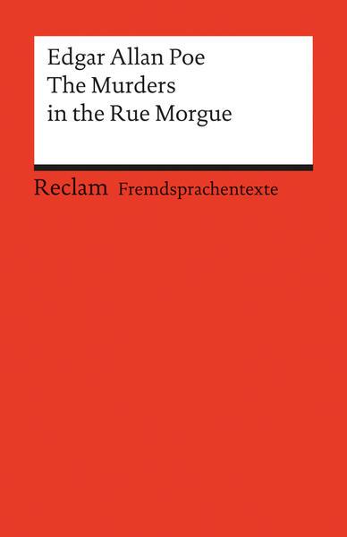 The Murders in the Rue Morgue - Coverbild
