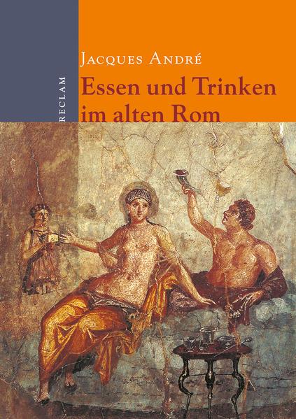 Essen und Trinken im alten Rom - Coverbild