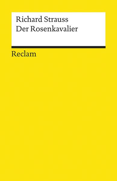 Der Rosenkavalier - Coverbild