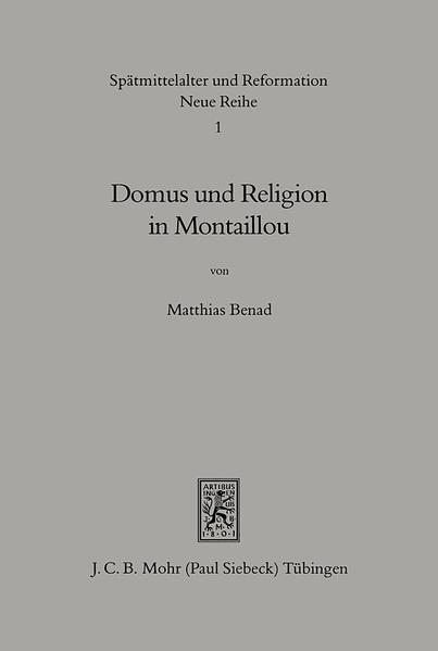Domus und Religion in Montaillou - Coverbild