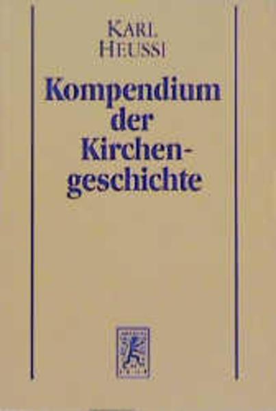 Kompendium der Kirchengeschichte / Kompendium der Kirchengeschichte - Coverbild