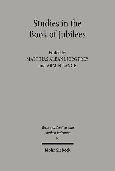 Studies in the Book of Jubilees - Coverbild