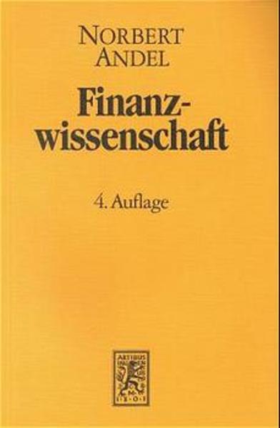 Finanzwissenschaft / Finanzwissenschaft - Coverbild