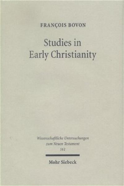 Studies in Early Christianity - Coverbild