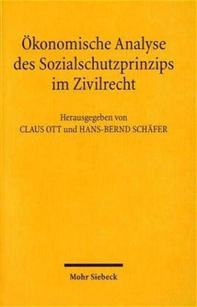 Ökonomische Analyse des Sozialschutzprinzips im Zivilrecht - Coverbild