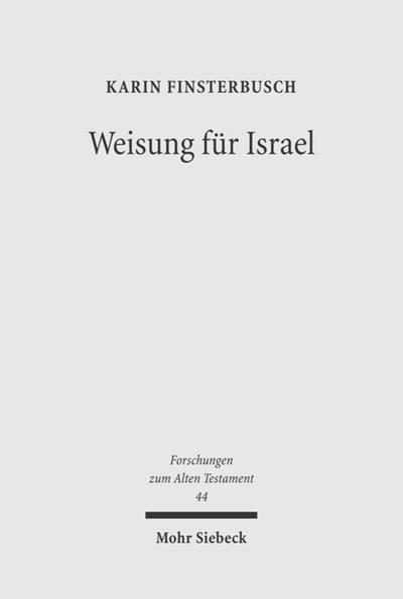 Weisung für Israel - Coverbild