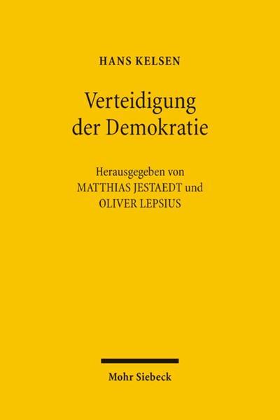 Verteidigung der Demokratie - Coverbild