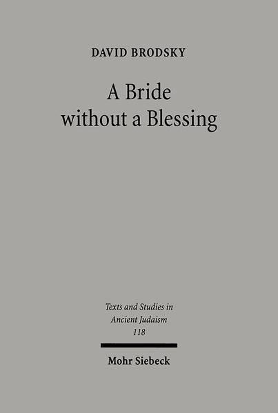 A Bride without a Blessing - Coverbild