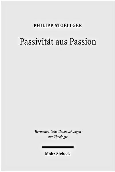Passivität aus Passion - Coverbild