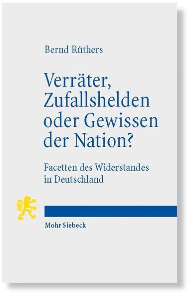 Verräter, Zufallshelden oder Gewissen der Nation? - Coverbild