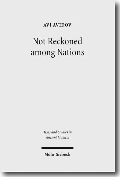 Not Reckoned among Nations - Coverbild