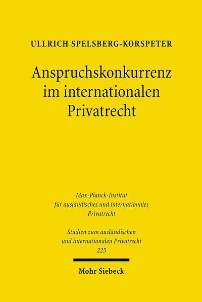 Anspruchskonkurrenz im internationalen Privatrecht - Coverbild