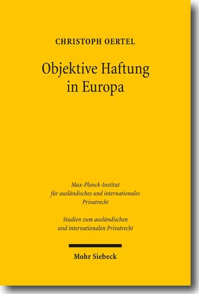 Objektive Haftung in Europa - Coverbild