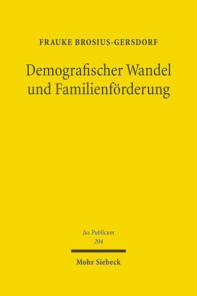 Demografischer Wandel und Familienförderung - Coverbild