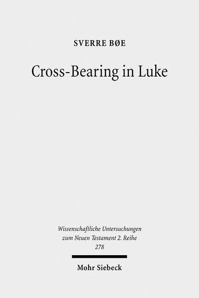 Cross-Bearing in Luke - Coverbild