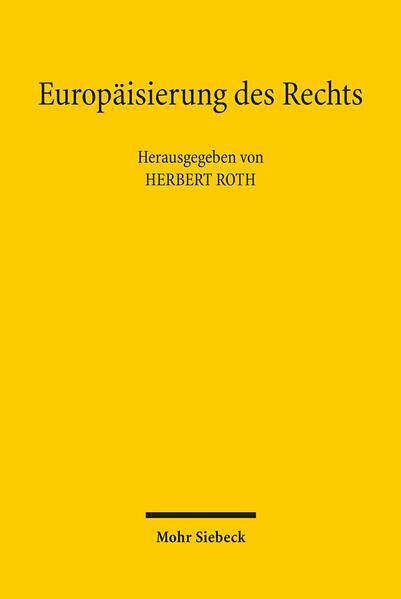 Europäisierung des Rechts - Coverbild