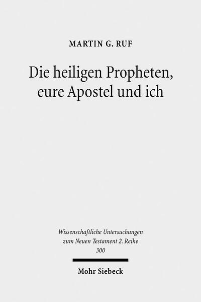 Die heiligen Propheten, eure Apostel und ich - Coverbild