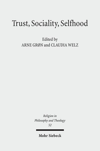 Trust, Sociality, Selfhood - Coverbild
