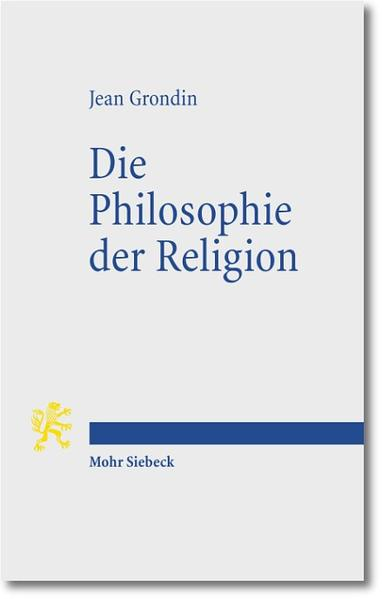 Die Philosophie der Religion - Coverbild