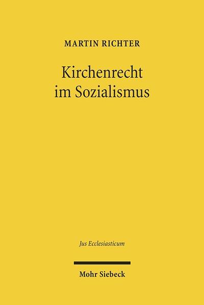 Kirchenrecht im Sozialismus - Coverbild