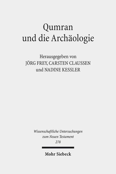 Qumran und die Archäologie - Coverbild