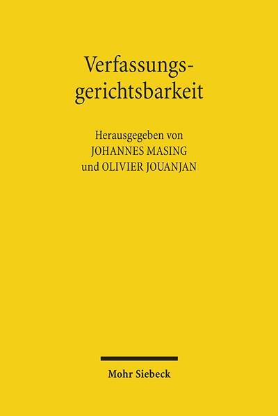 Verfassungsgerichtsbarkeit - Coverbild