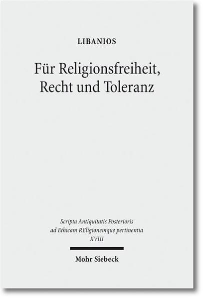 Für Religionsfreiheit, Recht und Toleranz - Coverbild