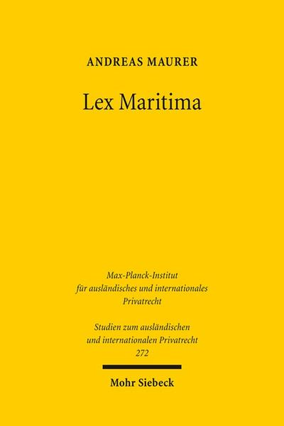 Lex Maritima - Coverbild