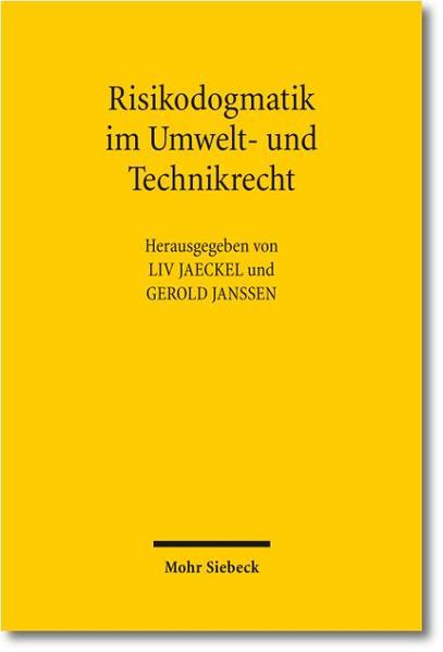 Risikodogmatik im Umwelt- und Technikrecht - Coverbild