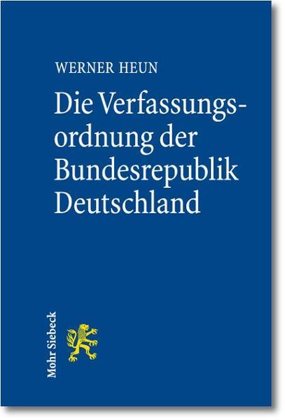 Die Verfassungsordnung der Bundesrepublik Deutschland - Coverbild