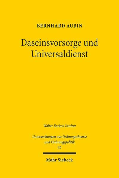 Daseinsvorsorge und Universaldienst - Coverbild