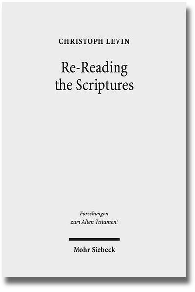 Re-Reading the Scriptures - Coverbild