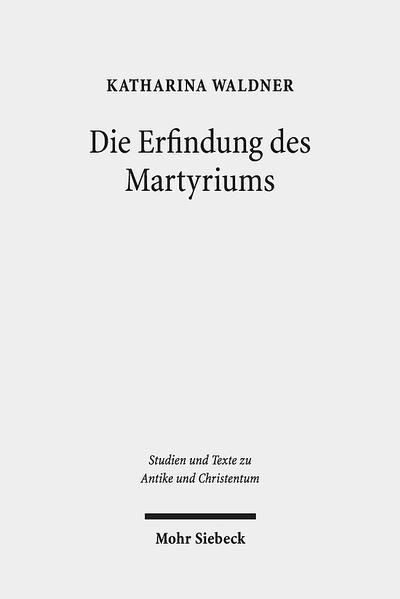 Die Erfindung des Martyriums - Coverbild