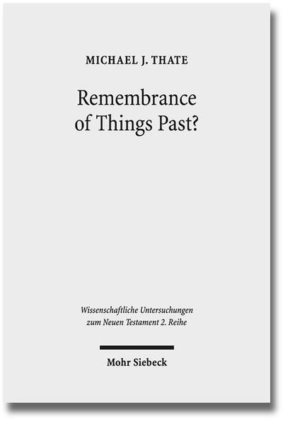 Remembrance of Things Past? - Coverbild