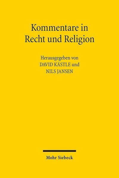 Kommentare in Recht und Religion - Coverbild