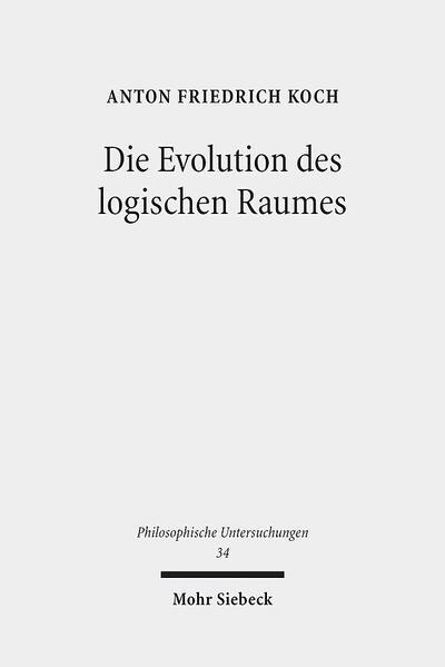 Die Evolution des logischen Raumes - Coverbild