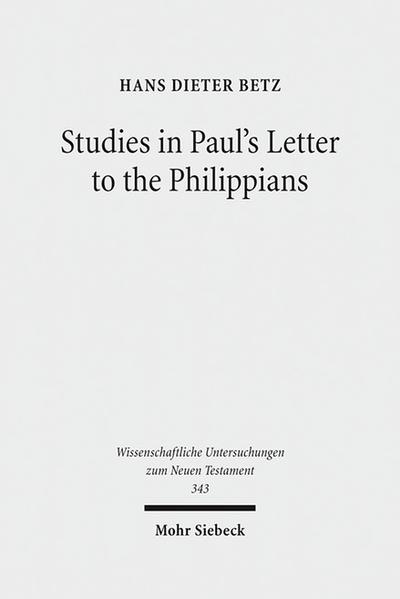 Studies in Paul's Letter to the Philippians - Coverbild