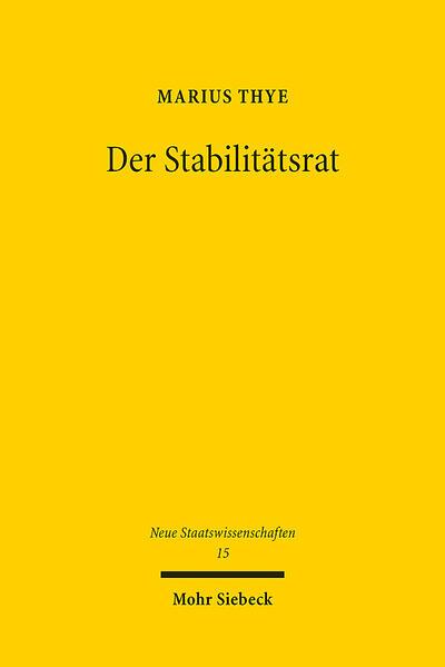 Der Stabilitätsrat - Coverbild
