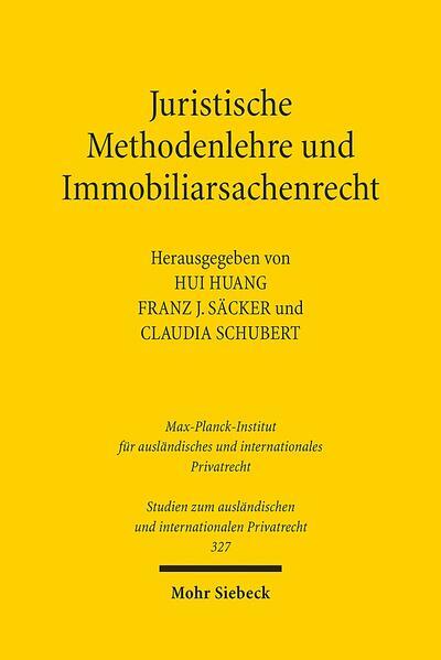 Juristische Methodenlehre und Immobiliarsachenrecht - Coverbild