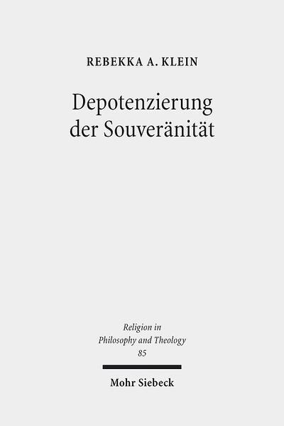 Depotenzierung der Souveränität - Coverbild