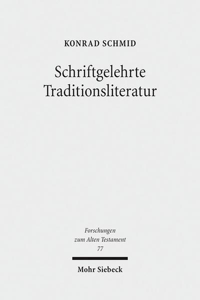 Schriftgelehrte Traditionsliteratur - Coverbild