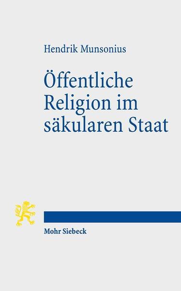Öffentliche Religion im säkularen Staat - Coverbild
