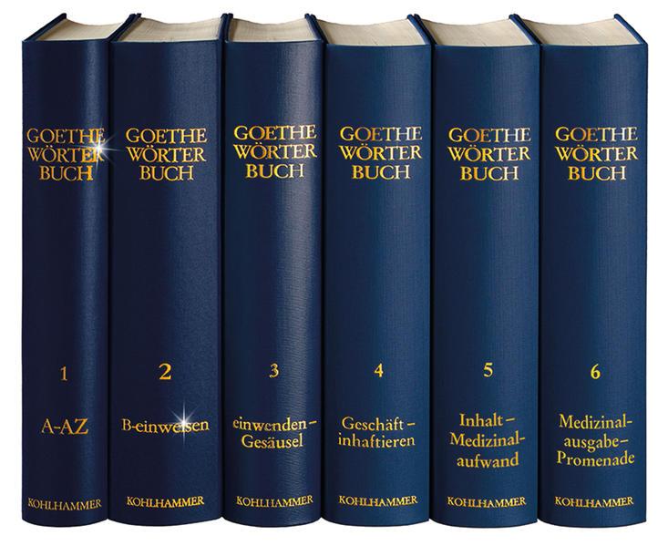 Goethe-Wörterbuch / Goethe Wörterbuch, Band 3, Leinen - Coverbild