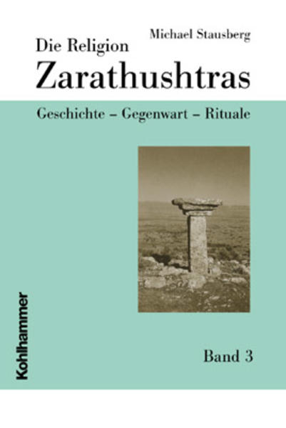 Die Religion Zarathushtras - Coverbild