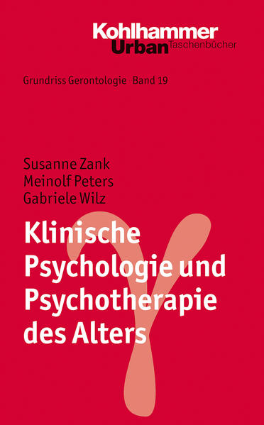 Grundriss Gerontologie / Klinische Psychologie und Psychotherapie des Alters - Coverbild