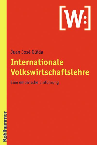 Internationale Volkswirtschaftslehre - Coverbild