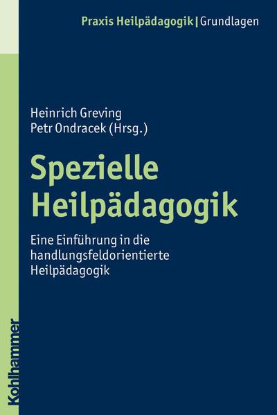 Spezielle Heilpädagogik - Coverbild